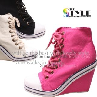 Picture of Woorisin Wedge Sneakers 1022975368 (Sneakers, Woorisin Shoes, Korea Shoes, Womens Shoes, Womens Sneakers)
