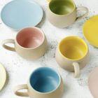 Ceramic Mug & Saucer 1596