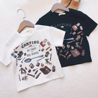 Short-sleeve | T-Shirt | Print | Kid