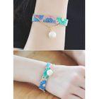 Faux-Pearl Detail Pattern Bracelet от YesStyle.com INT
