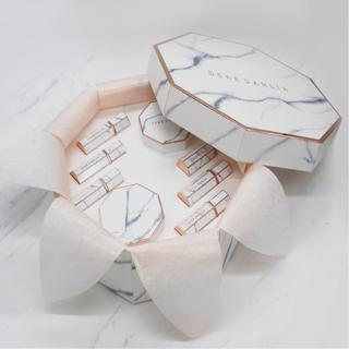 DEAR DAHLIA - Paradise Collection VIP Gift Set: Lip Paradise Intense Satin 6pcs + Skin Paradise Blooming Cushion SPF35 PA+++ 1pc + Tone-Up Sun Cushion SPF35 PA+++ 1pc #Nude Beige 1065244101