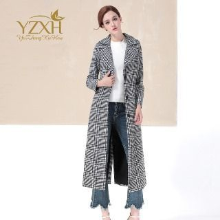 Houndstooth Button Coat 1054970476
