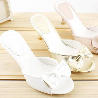 Buy KAWO Bow-Accent Mules 1022760632