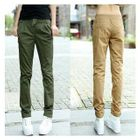 Straight-Leg Drawstring Pants 1596