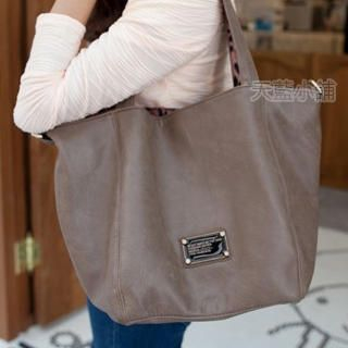Tote with Leopard Inner Bag