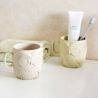Owl Toothbrush Cup 1058240254