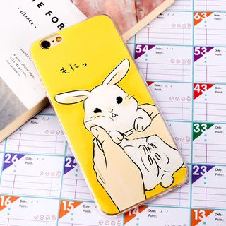 Image of Rabbit Mobile Case - iPhone X / 8 / 8 Plus / 7 / 7 Plus / 6S / 6S Plus / 5S