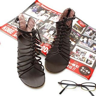 Picture of KAWO Braided Gladiator Sandals 1022774632 (Sandals, KAWO Shoes, China Shoes, Womens Shoes, Womens Sandals)