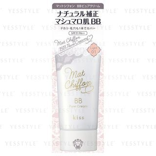 Matt Chiffon BB Pure Cream SPF 31 PA++ 01 Light One Tone Bright Natural Color 1 pc