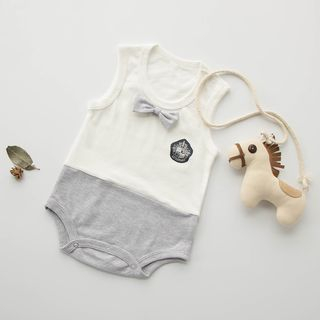 Baby Color Block Bodysuit