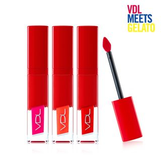 VDL - Expert Color Lip Cube Fluid Tattoo (Gelato Edition) (8 Colors) #503 Tropicana 1060657288