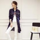 Long Denim Shirt Blue - One Size от YesStyle.com INT