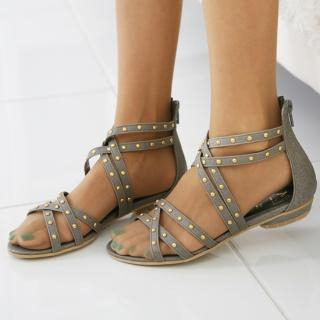 Buy Jean Stone Studded Gladiator Sandals 1022764832