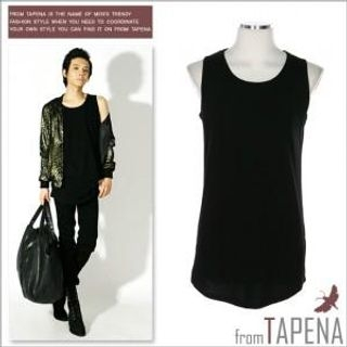 Buy TAPENA Long Tank Top 1022395940