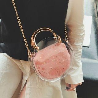 Set Of 2: Transparent Handbag + Crossbody Bag 1065671185