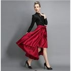 Long Sleeve Tie-Waist Plain Dress 1596