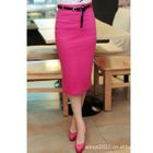 Pencil Knit Skirt 1596