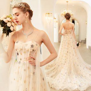 Strapless   Wedding   Sequin   Dress