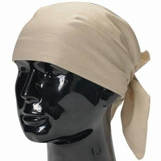 Picture of GRACE Head Wrap Cream- One Size 1022080403 (GRACE, Mens Hats & Scarves, Japan)