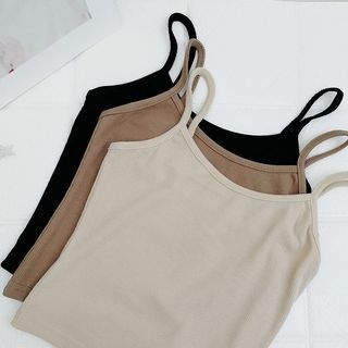 Ribbed Camisole Top 1065697945
