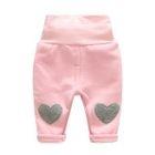 Kids Heart Applique Pants 1596