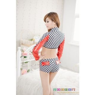 Racing Girl Party Costume 1051088225