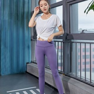 Short-sleeve | T-Shirt | Sport | Yoga | Pant | Top
