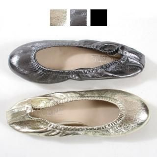 Buy Blingstyle Shoes Metallic Flats 1022349069