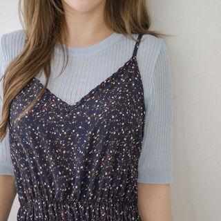 Short-Sleeve Ribbed T-Shirt 1058475652