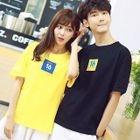 Couple Matching Short Sleeve T-Shirt 1596