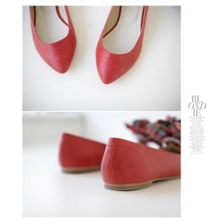 Buy PAUL ANNE Point Toe Flats 1021562791