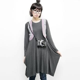 Picture of Beccgirl Long-Sleeve Dress 1022438840 (Beccgirl Dresses, Womens Dresses, South Korea Dresses, Long-Sleeve Dresses)