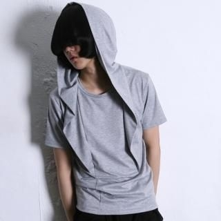 Buy REENO Short-Sleeve Hooded Top 1022823669