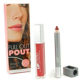 Buy Fusion Beauty – Full Out Pout Lip Plump Set – Color Shine (# Fresh) + Pencil (# Pout) 2pcs