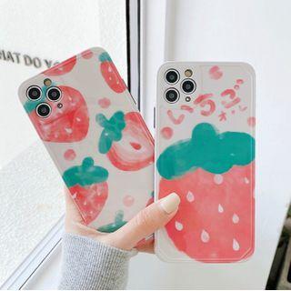 Strawberry | iPhone | Phone | Print | Case | Plus