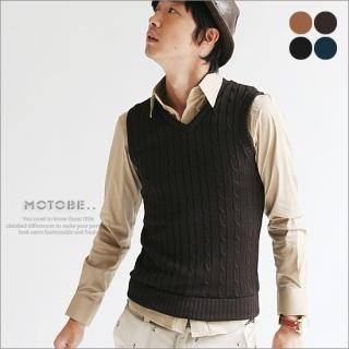 Buy MOTOBE Knit Vest 1021169963
