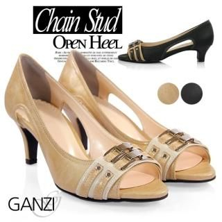 Buy ganzi Peep Toe Pumps 1022702979