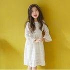 Family Matching Lace Long Sleeve Dress 1596