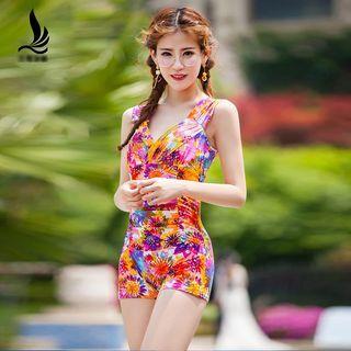 Floral Print Swimsuit 1057219307