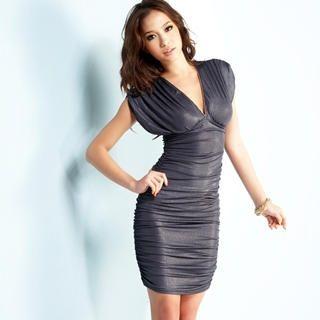 Buy Joanne Kitten Sleeveless Shirred Dress 1022567919