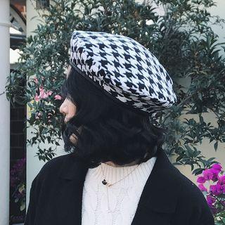White | Black | Size | Hat | One