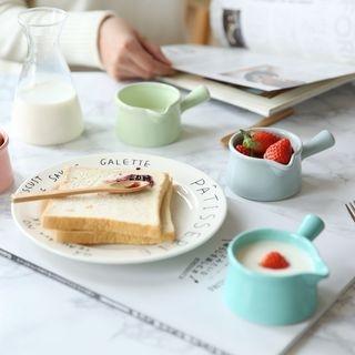Ceramic Milk Cup with Handle 1058583882