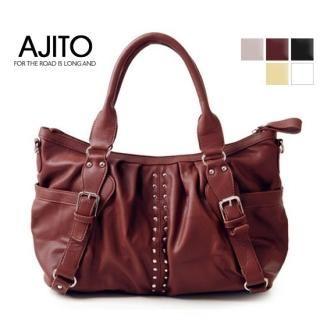 Picture of AJITO Studded Tote 1021091143 (AJITO, Tote Bags, Korea Bags, Womens Bags, Womens Tote Bags)
