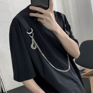 Image of Chain Short-Sleeve T-Shirt