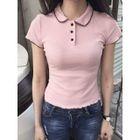 Short Sleeve Polo Shirt 1596