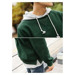 Color-Block Hooded Sweatshirt 1054854656