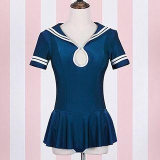 short-sleeve-sailor-swimsuit