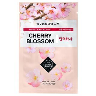 Image of Etude House - 0.2 Therapy Air Mask 1pc (23 Flavors) Cherry Blossom