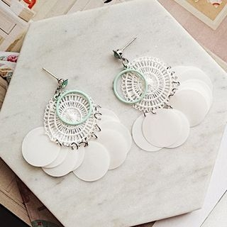 Sequined Statement Earring 1061729807