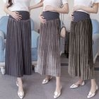 Maternity Pleated Midi Skirt 1596
